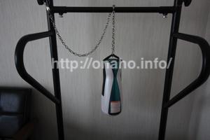 A10サイクロンSAを鎖(チェーン)で吊るす方法