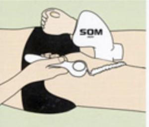 メンズソムの固定
