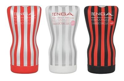 TENGA スクイズチューブカップ(3種類)